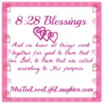8:28 Blessings Share Social {Week 5}