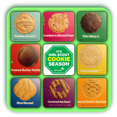 girl scout cookie flavors girl scout cookies 2017 flavors