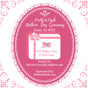 PrettyInPynk Mother's Day Giveaway